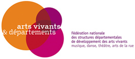 Logo Arts vivants et Départements